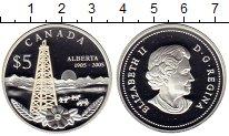 Изображение Монеты Канада 5 долларов 2005 Серебро Proof