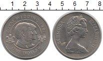 Изображение Монеты Великобритания Бермудские острова 1 доллар 1981 Медно-никель XF