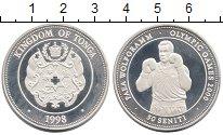 Изображение Монеты Тонга 50 сенити 1998 Серебро Proof-