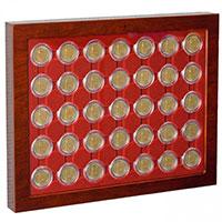 Изображение Аксессуары для монет Кейсы Коробка-витрина MV CAPS 26  (321106) 0   !!! УЦЕНЕННЫЙ ТОВАР