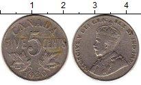 Изображение Монеты Канада 5 центов 1930 Медно-никель XF-