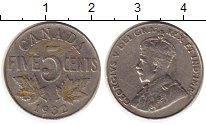 Изображение Монеты Канада 5 центов 1932 Медно-никель XF-