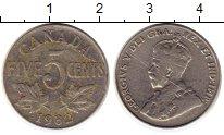 Изображение Монеты Северная Америка Канада 5 центов 1932 Медно-никель XF-
