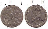 Изображение Монеты Канада 5 центов 1933 Медно-никель XF- Георг V