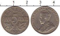 Изображение Монеты Северная Америка Канада 5 центов 1936 Медно-никель XF-