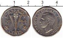 Изображение Монеты Северная Америка Канада 5 центов 1944 Хром XF-