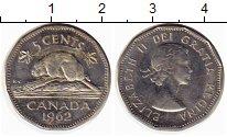Изображение Монеты Канада 5 центов 1962 Медно-никель XF-