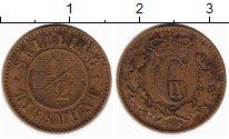 Изображение Монеты Дания 1/2 скиллинга 1868 Бронза XF