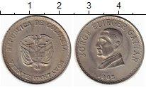 Изображение Монеты Южная Америка Колумбия 20 сентаво 1965 Медно-никель XF+