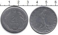 Изображение Монеты Турция 2 1/2 лиры 1964 Сталь XF