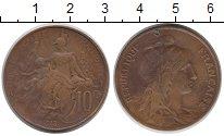 Изображение Монеты Франция 10 сантим 1913 Бронза VF