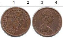 Изображение Монеты Новая Зеландия 2 пенса 1967 Бронза XF