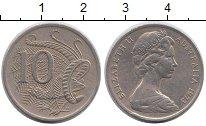 Изображение Монеты Австралия 10 центов 1973 Медно-никель XF