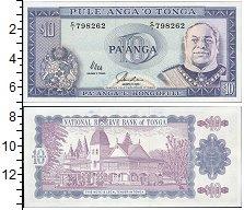 Изображение Банкноты Тонга 10 панга 2000  UNC