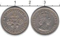 Изображение Монеты Африка Маврикий 1/4 рупии 1971 Медно-никель XF-
