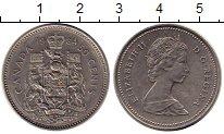 Изображение Монеты Северная Америка Канада 50 центов 1984 Медно-никель XF