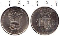 Изображение Монеты Северная Америка Панама 1/2 бальбоа 2011 Медно-никель UNC-