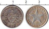 Изображение Монеты Северная Америка Куба 10 сентаво 1949 Серебро VF