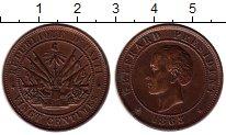 Изображение Монеты Гаити 20 сантим 1863 Медь XF