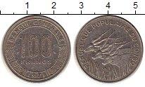 Изображение Монеты Африка Конго 100 франков 1971 Медно-никель XF-