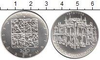 Изображение Монеты Чехия 200 крон 1996 Серебро UNC