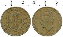 Изображение Монеты Северная Америка Ямайка 1 пенни 1945 Латунь VF