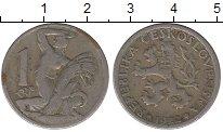 Изображение Монеты Чехия Чехословакия 1 крона 1922 Медно-никель VF