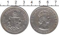 Изображение Монеты Бермудские острова 1 крона 1964 Серебро XF-