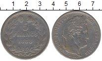 Изображение Монеты Европа Франция 5 франков 1838 Серебро VF