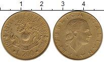 Изображение Монеты Италия 200 лир 1994 Латунь XF-