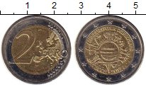 Изображение Монеты Европа Германия 2 евро 2012 Биметалл XF