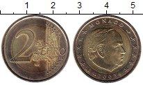 Изображение Монеты Монако 2 евро 2003 Биметалл UNC-