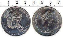 Изображение Монеты Канада 1 доллар 1983 Серебро UNC-