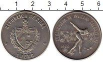 Изображение Монеты Северная Америка Куба 1 песо 1986 Медно-никель UNC-