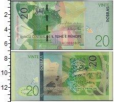 Изображение Банкноты Африка Сан-Томе и Принсипи 20 добрас 2016  UNC