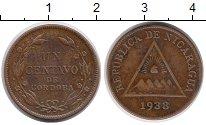 Изображение Монеты Никарагуа 1 сентаво 1938 Бронза VF