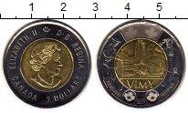 Изображение Монеты Северная Америка Канада 2 доллара 2017 Биметалл UNC-