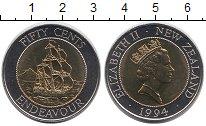 Изображение Мелочь Австралия и Океания Новая Зеландия 50 центов 1994 Биметалл UNC-