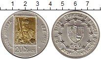 Изображение Монеты Европа Андорра 20 динерс 1991 Серебро UNC