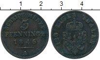 Изображение Монеты Пруссия 3 пфеннига 1846 Медь VF