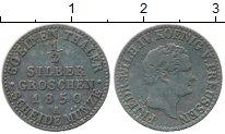 Изображение Монеты Пруссия 1/2 гроша 1850 Серебро VF