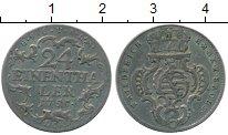 Изображение Монеты Германия Саксен-Альтенбург 1/24 талера 1755 Серебро XF