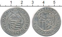 Изображение Монеты Германия Саксония 1 шрекенбергер 1560 Серебро VF