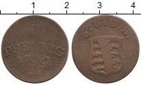Изображение Монеты Саксен-Веймар-Эйзенах 1 пфенниг 1799 Медь VF
