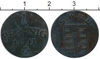 Изображение Монеты Германия Саксен-Веймар-Эйзенах 1 пфенниг 1801 Медь VF