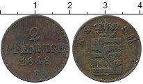 Изображение Монеты Саксен-Майнинген 2 пфеннига 1848 Медь XF