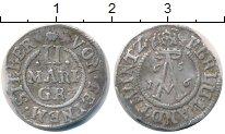 Изображение Монеты Германия Брауншвайг-Вольфенбюттель 2 гроша 1656 Серебро VF+