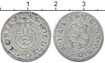 Изображение Монеты Бавария 2 крейцера 1625 Серебро XF-