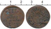 Изображение Монеты Германия Мекленбург-Шверин 3 пфеннига 1753 Медь VF