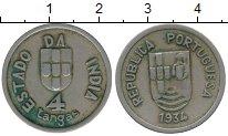 Изображение Монеты Португальская Индия 4 таньга 1934 Медно-никель XF-